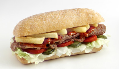 et döner sandviç