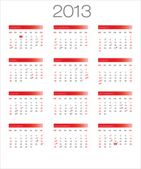 calendário 2013 moon_vermelho PT