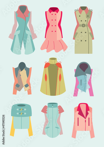woman coats and jackets fashion collection