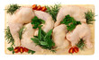 Cosce di pollo - Thigh of chicken