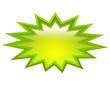 Vector green splash