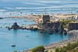 Tower of Fiuzzi.  Praia a Mare. Calabria. Italy.