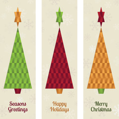 christmas tree banners