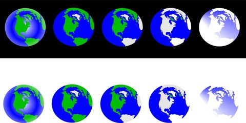 global warming snap shot