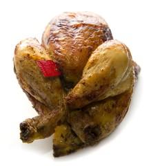 Pollo arrosto campese con sigillo di garanzia
