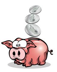 saving pig