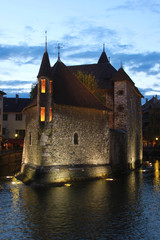 Palais de l'Isle in Annecy, France