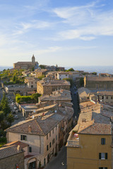 Tuscany sigths, montalcino panorama