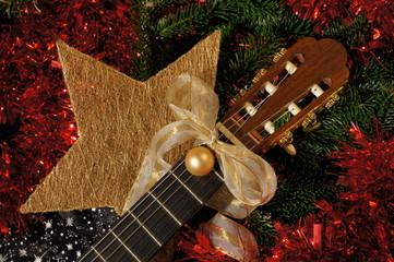 Gitarre und Weihnachten