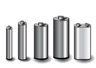five batteries