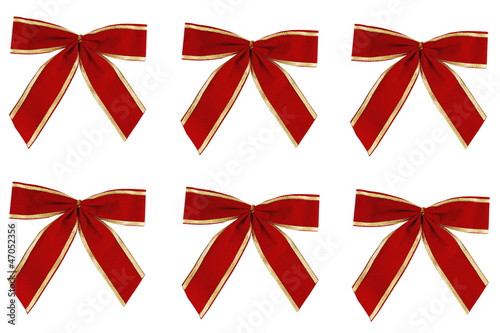 Red and Gold Xmas Bows