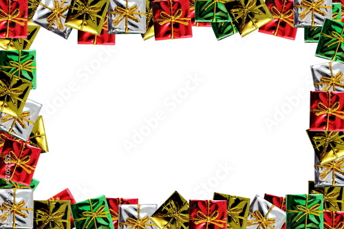 Christmas Package Frame