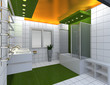 Modern luxury bathroom interior. No brandnames