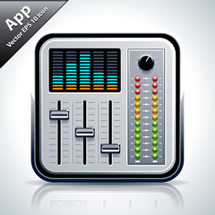 Mixer musical app icon