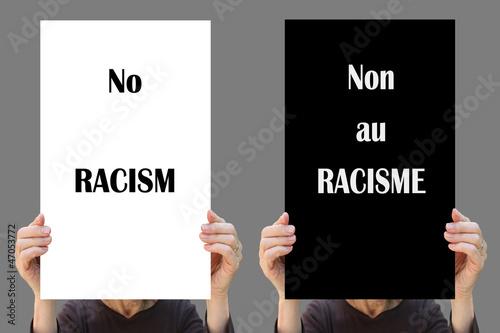NO  RACISM  !
