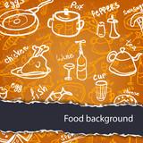Fototapety Food background
