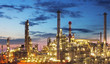 Oil and gas industry - refinery - factory - petrochemical plant