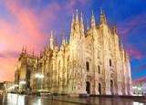 Kopuła katedry w Mediolanie - Włochy