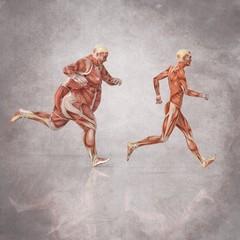Anatomia Hombres Corriendo
