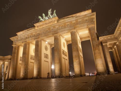 Fototapeten,berlin,wahrzeichen,nacht,sehenswürdigkeit