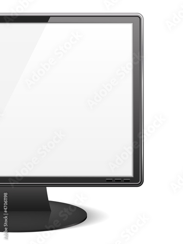 Close-up of a computer monitor