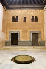 Facade of Comares, Alhambra, Granada