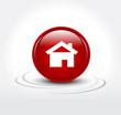 Haus Icon 3D Immobilienbranche