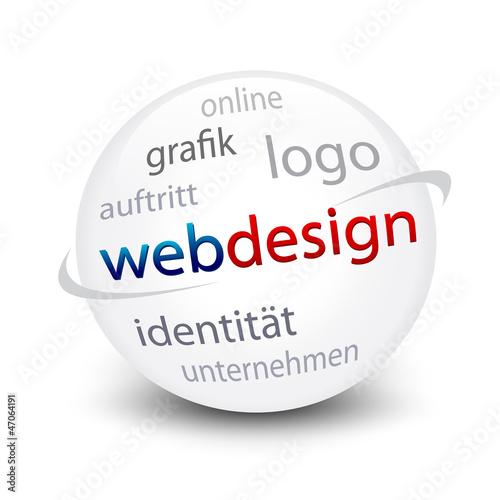 Webdesign Kugel
