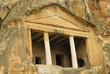 frühchristliches Grab - Gerdek Felsen