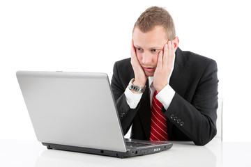 Stress im Büro - Burnout