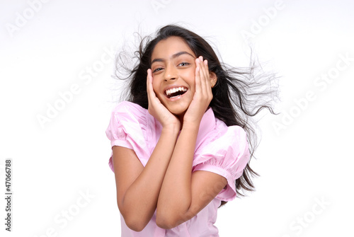 Portrait of happy Indian Girl