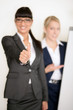 Gutaussehende Geschäftsfrauen