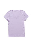 Lavender t-shirt isolated