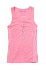 Rose singlet isolated