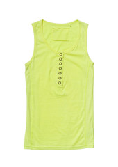 Yellow singlet isolated