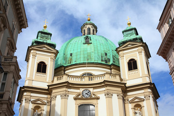Vienna - Peterskirche (Saint Peter's Church)