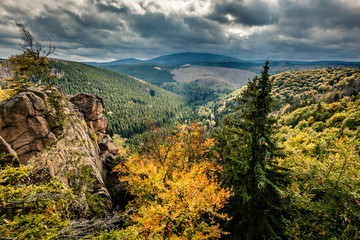 wilder Harz, Herbst, Brocken