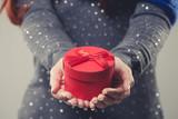 Fototapety Weihnachtliches Geschenk