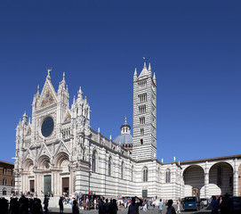 Tuscany sigths, siena cathedral