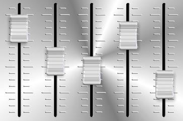 Volume slider knobs