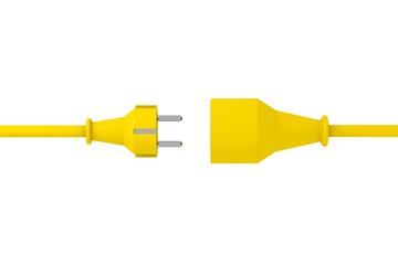 Stecker Gelb