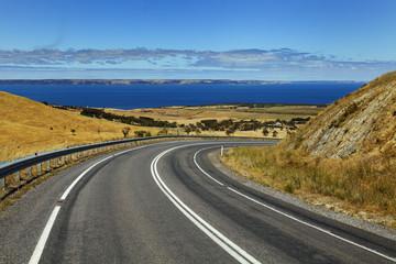 Küstenstrasse in Australien