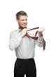 art of tie a necktie