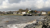 Aberdour waterfront Fife Scotland