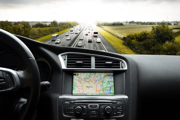 guidare nel traffico