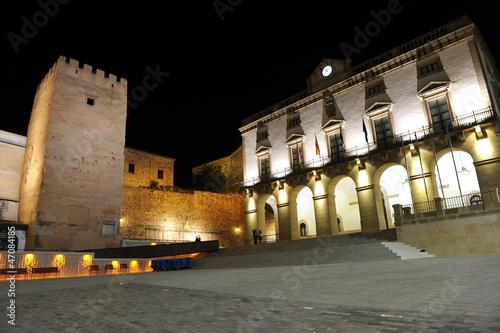Plaza Mayor y Ayuntamiento de Cáceres