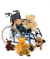 Rollstuhl für Kinder