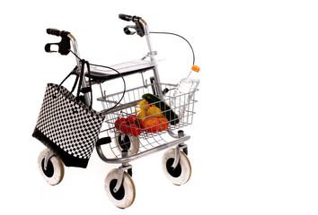 Rollator Einkauf