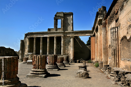Leinwandbild Motiv scavi di pompei