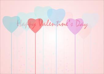 Cuori San Valentino vector
